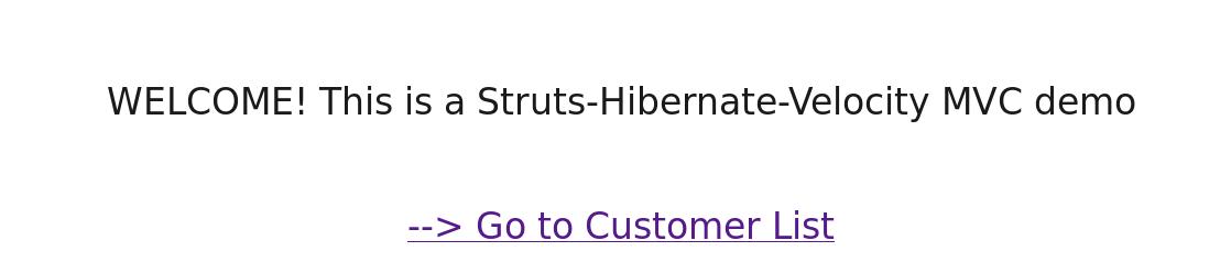 struts-hibernate-velocity-index