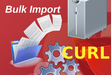 Bulk Import massivo in Alfresco usando CURL