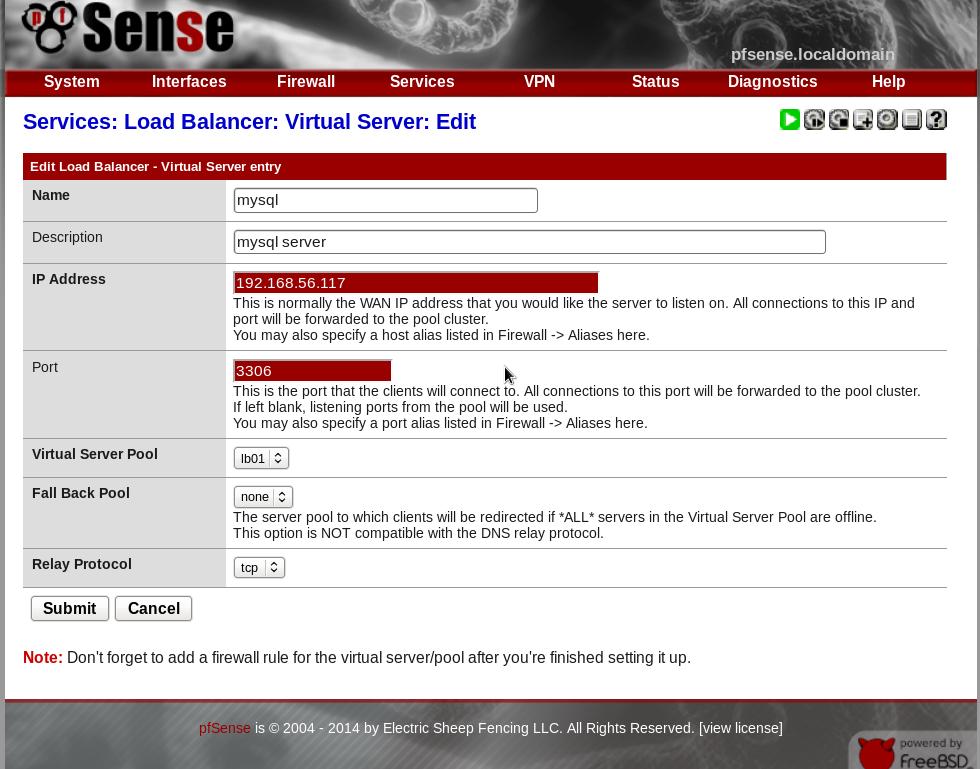giuseppe-urso--mysql-cluster-con-load-balancer-pfsense-05