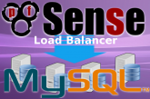 How to configure a Load Balanced Mysql Cluster with pfSense