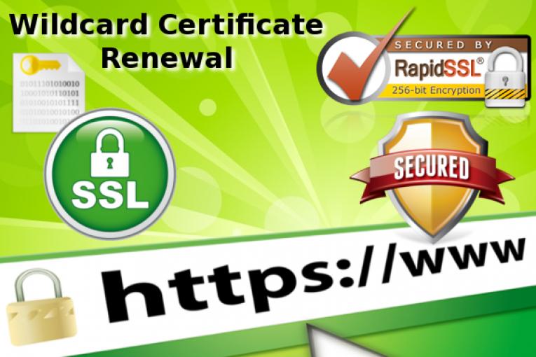 How To Renew An Ssl Wildcard Certificate With Rapidsslonline