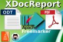 Conversione da ODT a PDF con XDocReport e Apache Freemarker